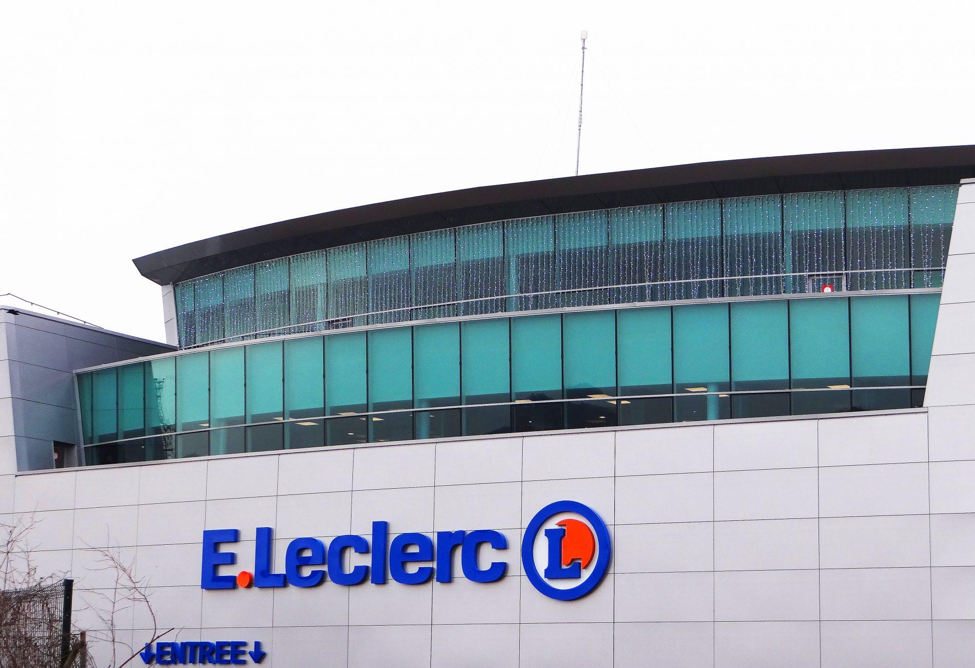 Fin de chantier pour le projet centre leclerc ville la for Leclerc piscine
